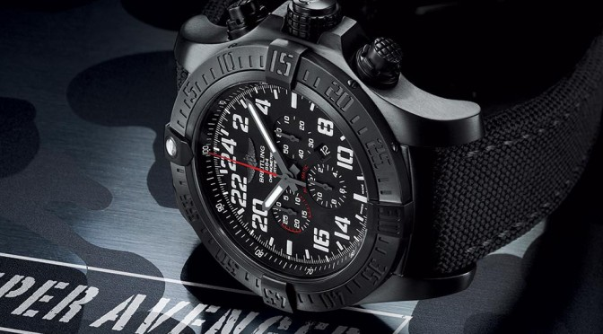 Breitling Super Avenger Military Watch
