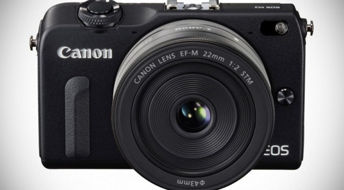 Canon EOS M2 Mirrorless Camera