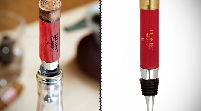 Fully Loaded Rednek Wine Stopper