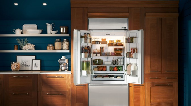 GE Monogram French Door Built-in Refrigerator