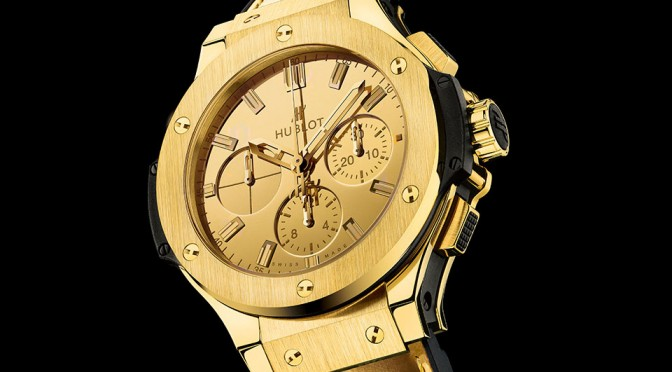 Hublot Big Bang Zegg & Cerlati Yellow Gold Edition