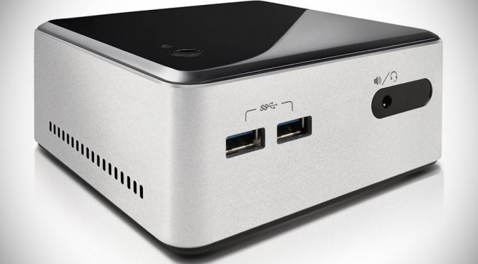 Intel NUC Kit D54250WYKH Mini Desktop Computer