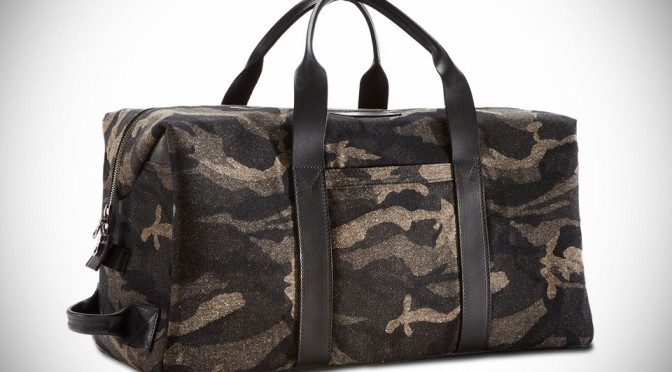 Jacquard Camo Weekender Bag by KILLSPENCER