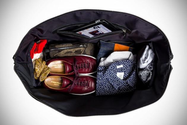 Jacquard Camo Weekender Bag by KILLSPENCER