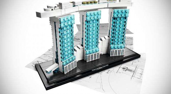 LEGO Architecture Marina Bay Sands