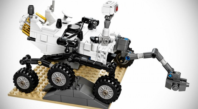 Lego Nasa Mars Science Laboratory Curiosity Rover Mikeshouts