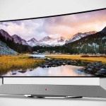 LG 105-inch Curved Ultra HD TV