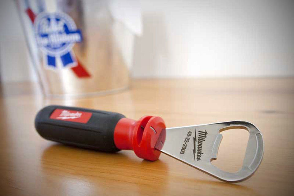 Milwaukee Bottle Opener Wire Stripper