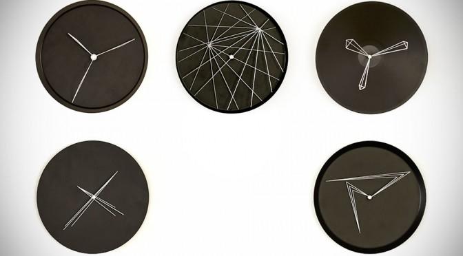 Perspective Clocks by Studio Ve