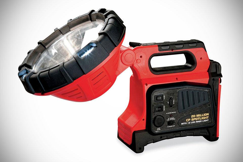 Rechargeable Spotlight Comparison Rechargeable Spotlight Power