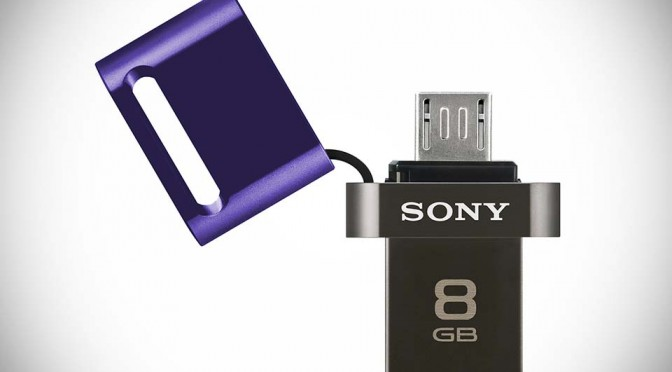 Sony USB Flash Drive for Smartphone