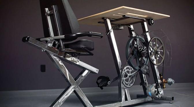 The Big Rig Pedal Desk