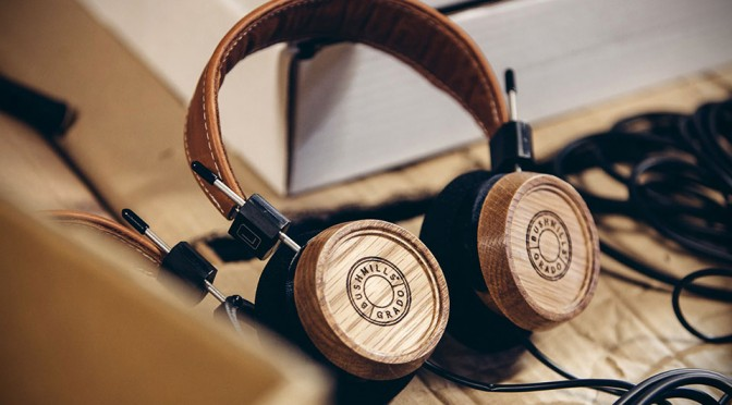 The Bushmills x Grado Labs Headphone