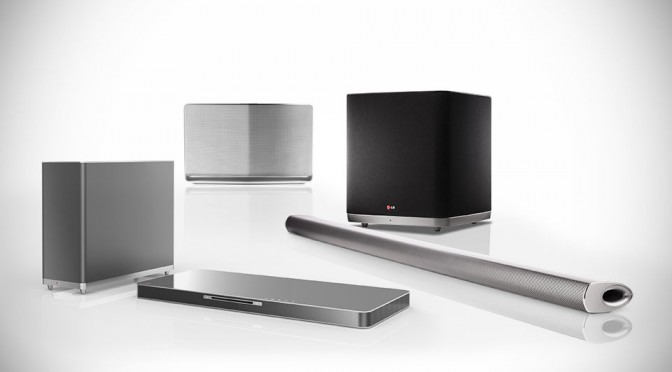 Three Audio Video Gadgets From LG For CES 2014