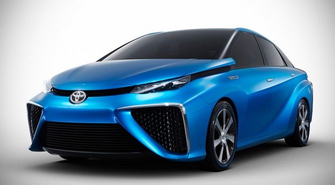 Toyota Fuel Cell Vehicle Concept Sedan