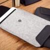 Y.O.D.A Carbon Fiber and Wool Felt Products - iPad Case