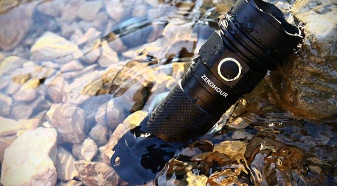 ZeroHour Tactical USB Battery Backup Flashlight