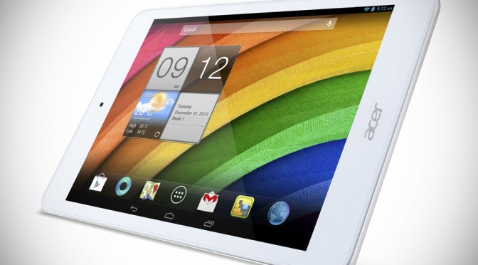 Acer Iconia A1-830 Android Tablet