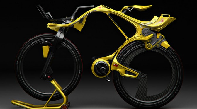 Chainless INgSOC Hybrid Bike