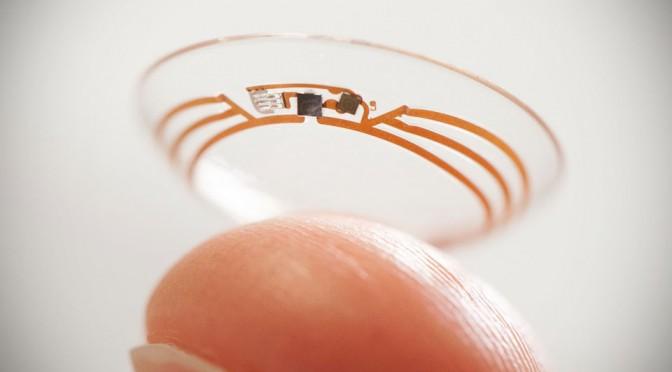 Google Smart Contact Lens