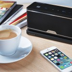 GroovyW Bluetooth Speaker with Wireless Charging Station