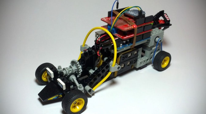 Arduino-powered LEGO Technic RC Car