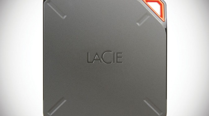 LaCie FUEL External Storage For iPad