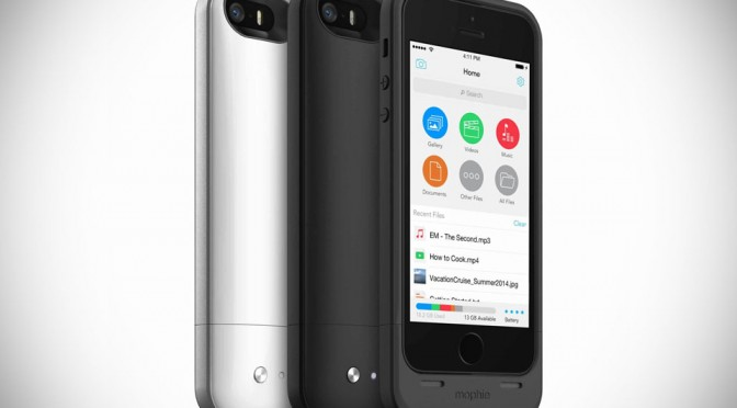Mophie Space Pack Battery + Memory Case for iPhone 5/5s