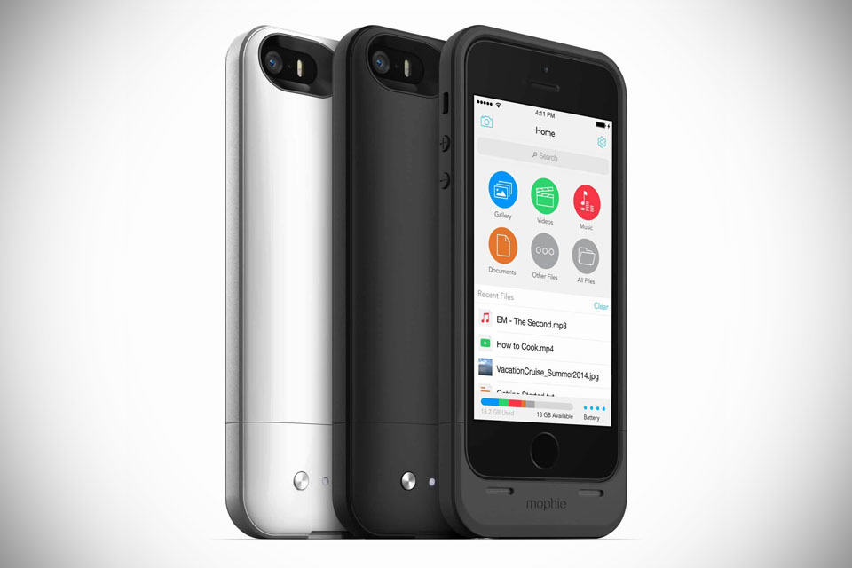 mophie space pack battery memory case for iphone 5 5s. Black Bedroom Furniture Sets. Home Design Ideas