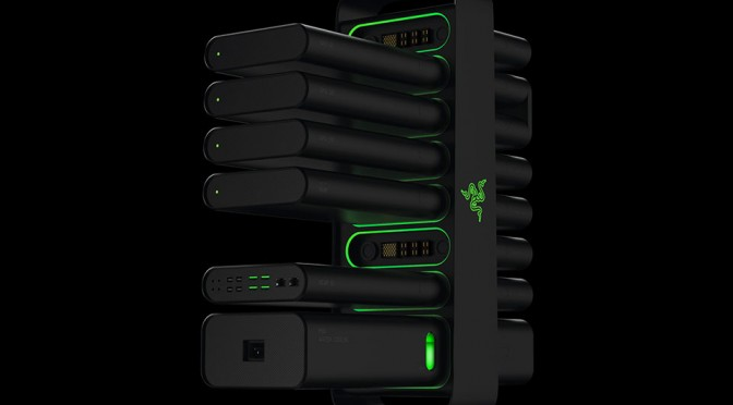 Razer Project Christine Modular PC Concept Design