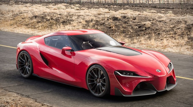 Toyota Ft 1 >> Toyota Ft 1 Concept Mikeshouts
