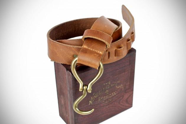 Wheelmen & Co. Buffalo Hook Belt