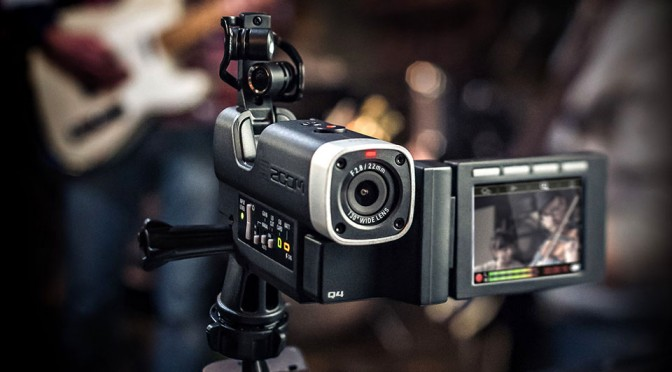 Zoom Q4 Video Camera For Musicians