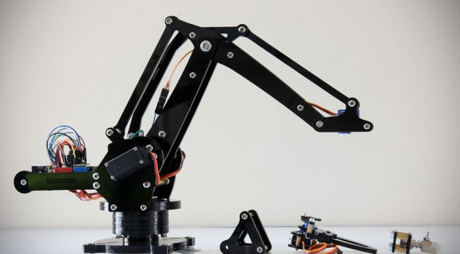 uArm Miniature Industrial Robot Arm