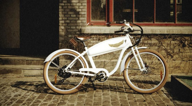 Ariel Rider Retro-style Electric Bicycle