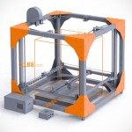 BigRep One Large Scale 3D Printer