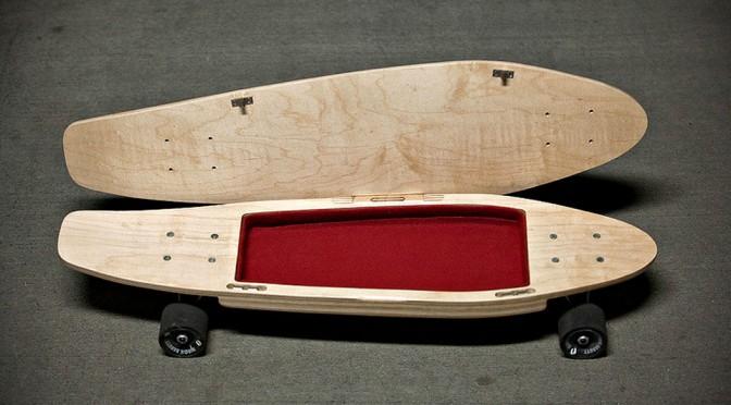 BriefSkate - Skateboard That Stores