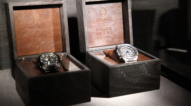 G-SHOCK x Todd Snyder Metal Twisted MT-G Watches