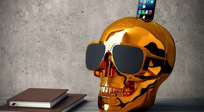 Jarre AeroSkull HD Bluetooth Sound Dock