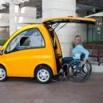 Kenguru Electric Hatchback For Wheelchair Users