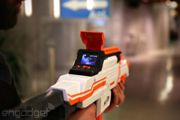 N-Strike Elite NERF ECS-12 Blaster
