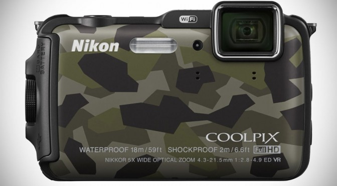 Nikon COOLPIX AW120 Rugged Camera