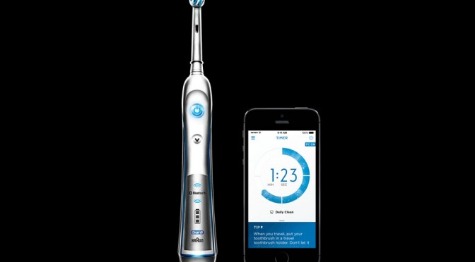 Oral-B SmartSeries Bluetooth Electric Toothbrush