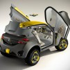 Renault KWID Concept with Quadcopter