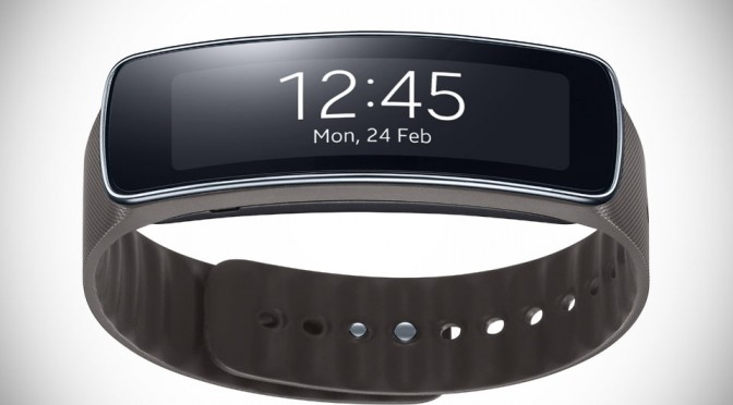 Samsung Gear Fit - Grey