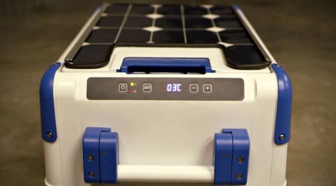 SolarCooler Solar-powered Refrigerating Cooler