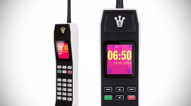 The Brick Retro Mobile Phone