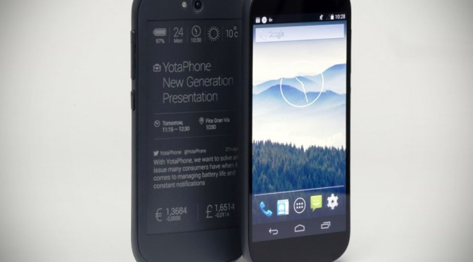 YotaPhone 2nd Generation Dual Display Smartphone