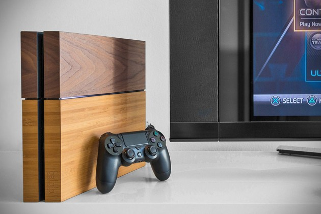 Balolo Genuine Wood Cover For Playstation 4