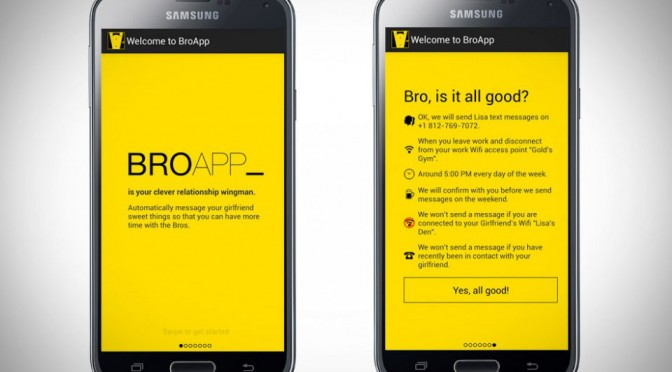 BroApp - Clever Relationship Wingman